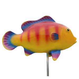 large size painted fish statue