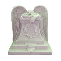 marble weeping angel statue