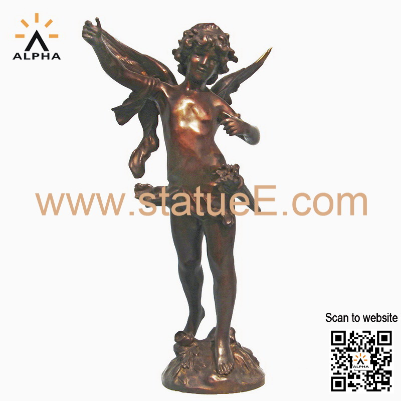 bronze Statue angel